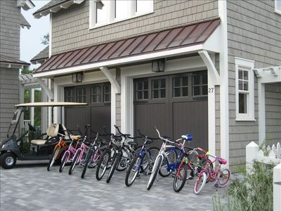 Carriage House - 14 Bikes and Golf Cart Included with Rental ($1000+ value)