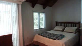 Cape Charles cottage photo - Cozy first floor bedroom overlooking back yard.