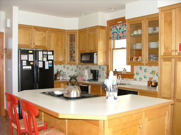 Fairview cottage fully stocked kitchen! If you are looking for it's here!