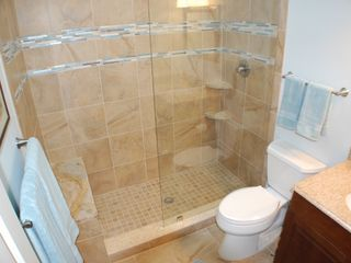 "St. Augustine Beach house photo - ""Surf"" designer bathroom!"