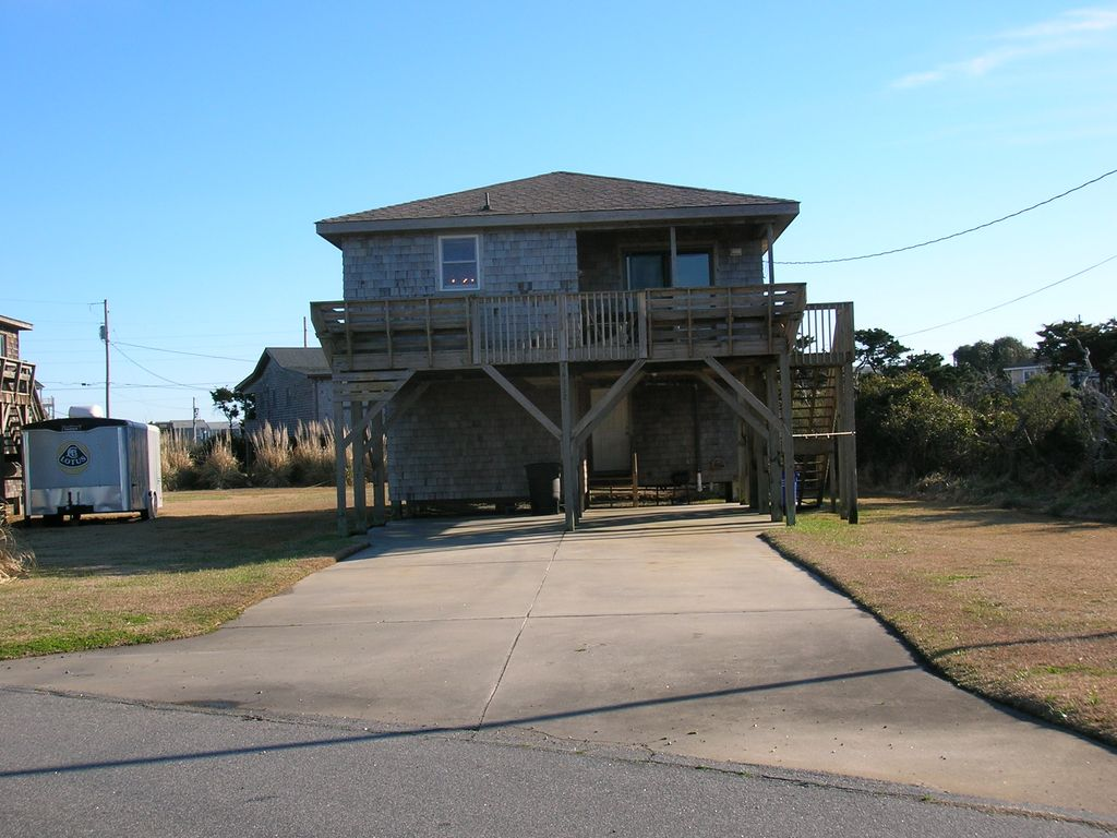 Hatteras village vacation rental vrbo 503590 4 br for Hatteras cabins rentals