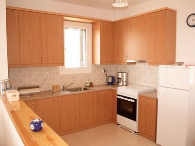 Stoupa house rental - kitchen