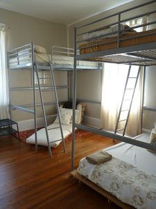 Third bedroom with bunks