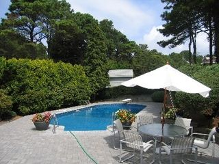 Southampton house photo - Heated Pool with Diving Board
