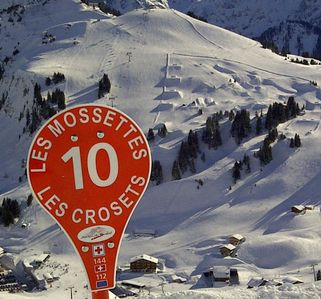 Les Crosets has a wide varierty of pistes