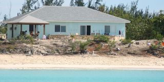 House from the sea - Cat Island house vacation rental photo