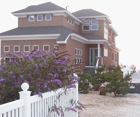 View of front entrance. - Holgate house vacation rental photo