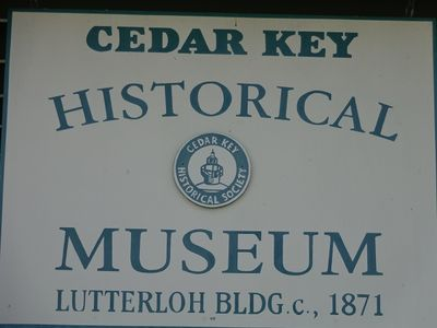 Make sure and visit one of the museums in Cedar Key.