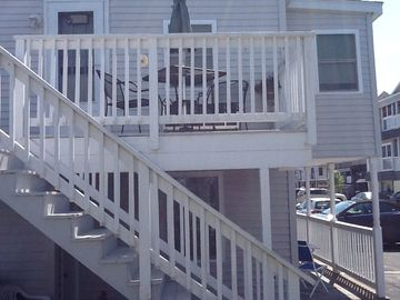 Hampton Beach condo rental - This is Unit D
