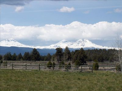 three Sisters mountains  near Bend.