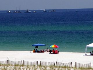 Pensacola Beach condo photo - Relax and enjoy the Gulf view from both balconies.