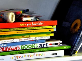 Modica house photo - The children's corner with art&ecology books