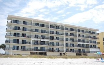 Newly painted building, all units ocean front.