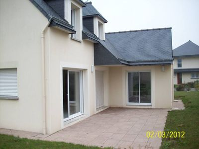 Recent house comfortable 4 bedrooms 6-10 people 400 m from the beach