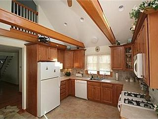 Yarmouth house photo - Eat in kitchen with Cathedral Ceiling