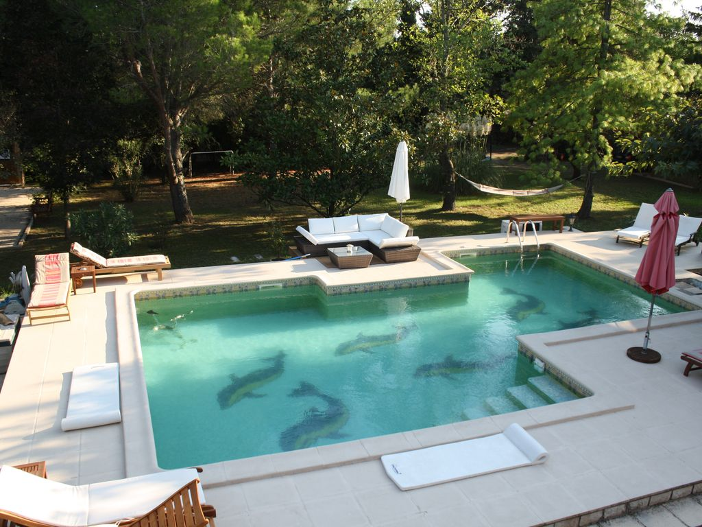 pool house grand studio 32m2 avec piscine vaucluse homelidays. Black Bedroom Furniture Sets. Home Design Ideas