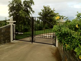 Orient Bay villa photo - Private and gated entrance to house