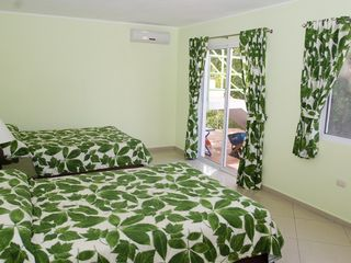 Sosua villa photo - Garden Room with Stairs to Pool and Access to Tropical Gardens