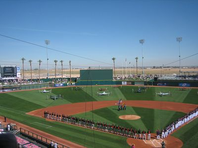 Goodyear Ballpark at MLB Spring Training..