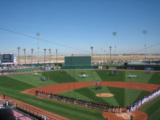 Goodyear house photo - Goodyear Ballpark at MLB Spring Training..