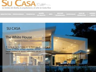 The White House of CR Su Casa, central america's leading architectural magazine