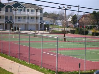 Wildwood Crest condo photo - Tennis Courts