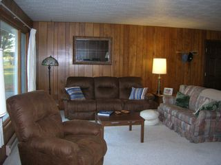 West Branch house photo - Comfortable and cozy living room