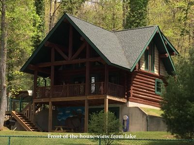 Lake Side Log Cabin Cozy Quite Brevard Asheville Hendersonville