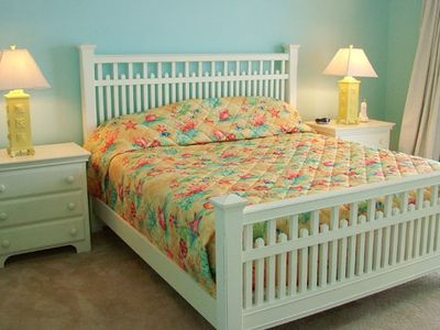 Beach Front Master Bedroon with King Bed