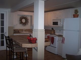 Charlemont apartment photo - Full kitchen with island.