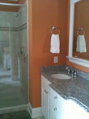 Wrightsville Beach condo photo - Bathrooms with granite countertops