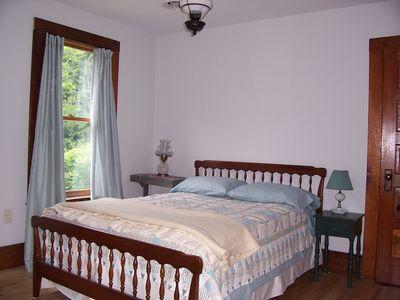 Georgia house rental - Blue Bedroom