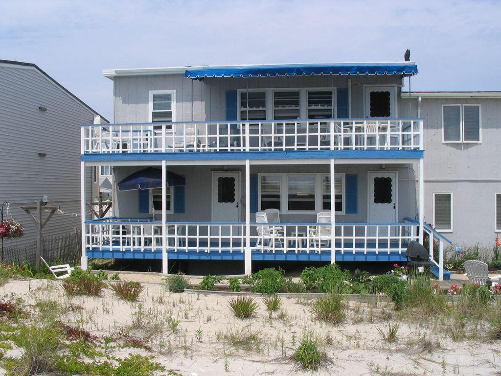 Oceanfront Beach House Charming Immaculate Homeaway Ship Bottom