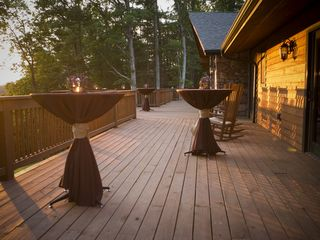 Weaverville lodge photo - View of the Deck