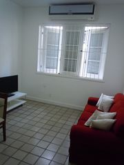 Ipanema apartment photo - Flat screen TV with cable channels, wireless internet connection .
