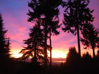 West Vancouver house photo - Stunning sunrises and sunsets