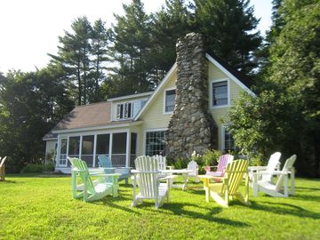 Killington farmhouse rental - Summer Time and the living is easy