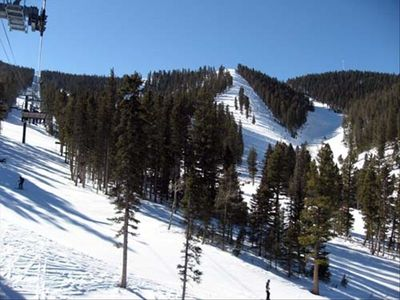 Great Skiing on a beautiful day in Angel Fire!