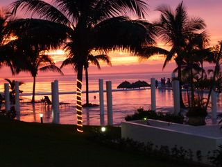 Nuevo Vallarta condo photo - Breath taking Sunsets in October from our condominium complex Villa Magna