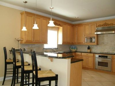 Dunes of Destin house rental - Large kitchen stocked with extras.