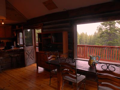 Nederland lodge rental - Dining Area and Kitchen