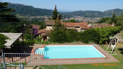 Camaiore chateau / country house rental - private pool - lower level