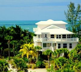 North Captiva Island house photo - Sea Breeze overlooks the aqua waters of the Gulf