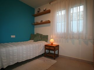 Caleta de Velez villa photo - Bedroom 3. Personal closet. Two beds in case of 6 guests.