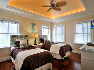 Key West house photo - Third bedroom has two twin beds that convert to king.