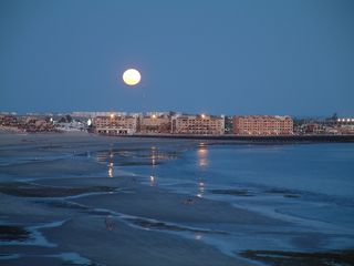 Puerto Penasco condo photo - A beautiful moonrise over Old Port