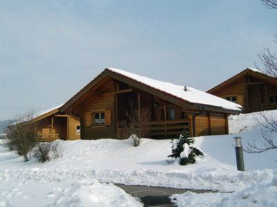 Near-natural log cabin (F *** DTV) for families with children and dog - Walking holidays