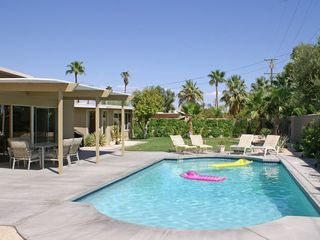 Palm Springs house photo - Play in Newer South Facing Pool w/ Sun All Day, Dine Poolside, Relax in Paradise