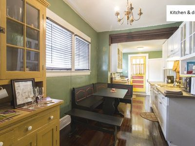 Kitchen includes dining nook