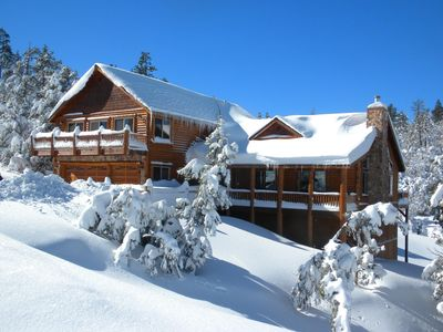 Big Bear Lake cabin rental - Four Seasons Chalet in the Winter 2009